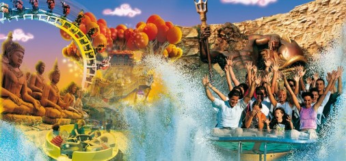 Gardaland, Safari park, Movieland, Caneva World