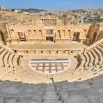 The theatre, Ancient Roman city of Jerash