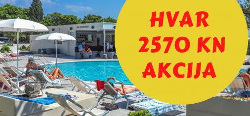 HVAR - HOTEL PHAROS - AKCIJA