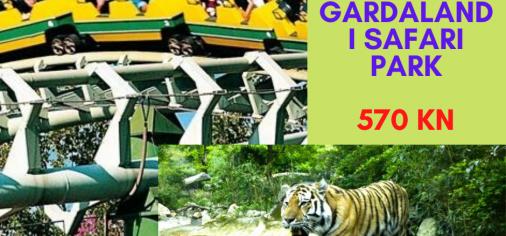 Gardaland i Safari park  18.-19.04.2020.