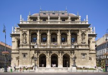 Hungarian State Opera House in Budapest