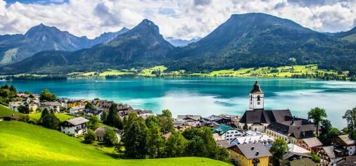 Valentinovo u Salzburgu i Austrijska jezera |
